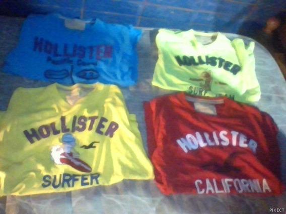 Remeras Hollister