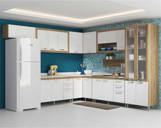 Cozinha Compacta Completa Multimóveis Toscana 5716-brvd