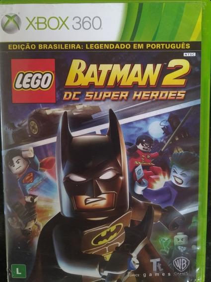 Jogo Lego Batman 2 Dc Super Heroes Original Xbox 360 - Usado