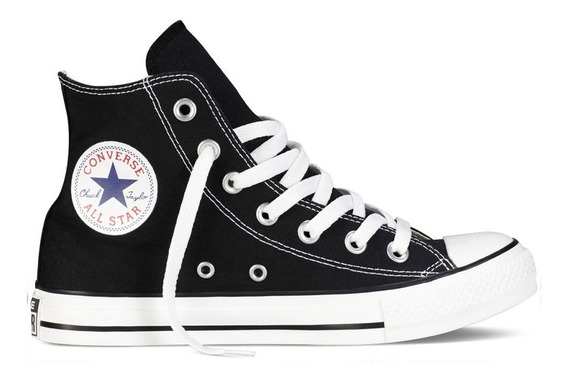 Zapatillas Converse Chuck Taylor All Star Hi Black (7197)