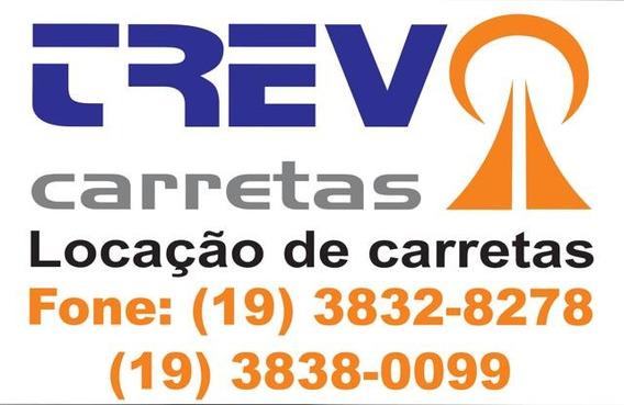 Aluguel / Locação De Carretas Baú, Sider E Carreta