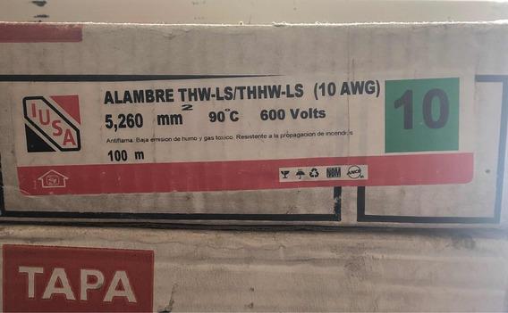 Alambre Iusa Thw-ls/thhw-ls (10 Awg) Verde