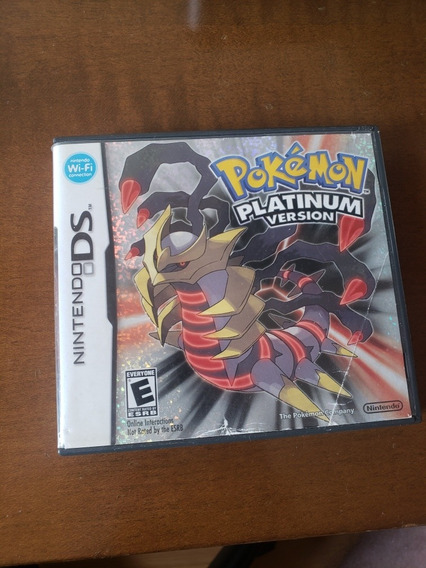 Pokémon Platinum Original Na Caixa