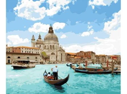 Pintura Numerada Veneza