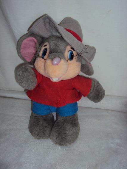 Pelucia Rato Antigo Tamanho 20cm