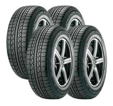 Jogo 4 Pneus Pirelli 265/75r16 123r Lt Scorpion Str