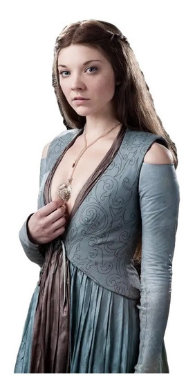 Colar Pingente Rosa Séries Game Of Thrones Margaery Tyrell