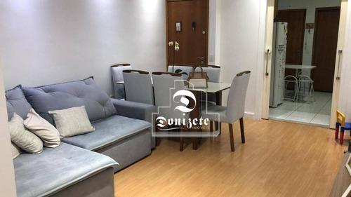 Apartamento Com 3 Dormitórios À Venda, 88 M² Por R$ 495.000,00 - Vila Valparaíso - Santo André/sp - Ap15874