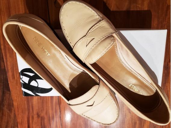 Zapatos Nine West - Número 39 - Mocasines Crema