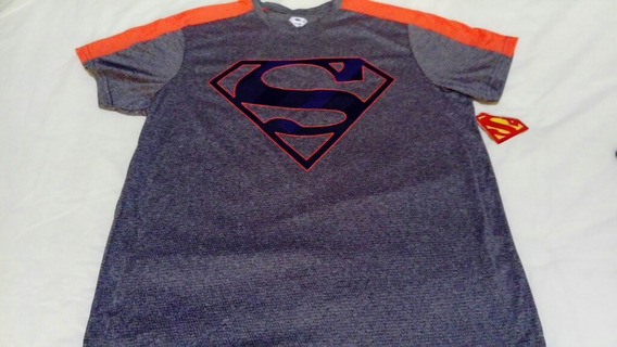 Playera Superman Deportiva