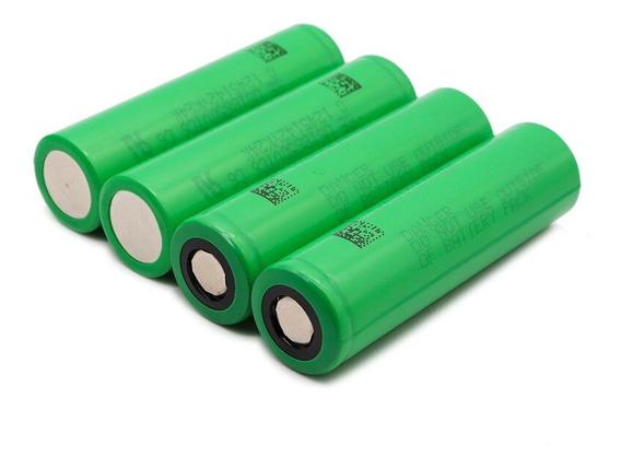 4 X Baterias 18650 Sony Vtc 2400mah - 15 A + Brinde