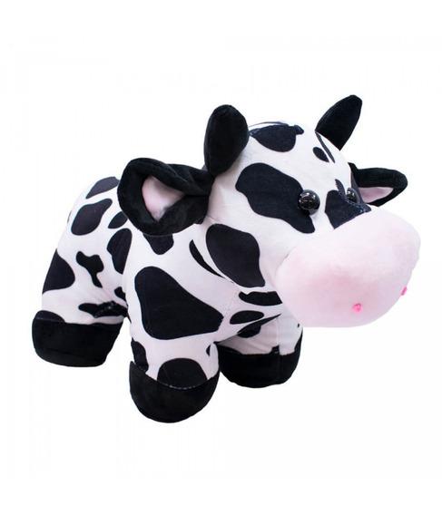 Vaca De Pelucia Em Pé 39cm Fofytoys Original Muito Fofo