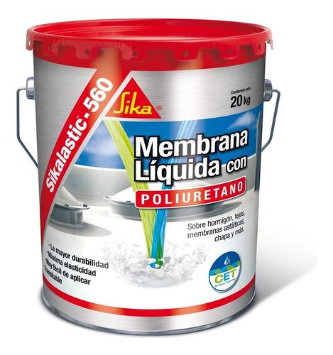 Sikalastic 560 Membrana Liquida Poliuretano 20kg Bca Central