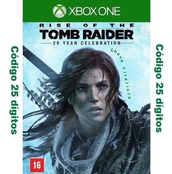 Rise Of The Tomb Raider Aniversário De 20 Anos 25 Dígitos