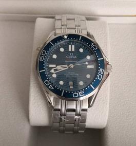 Relógio Mod. Seamaster Azul Automático