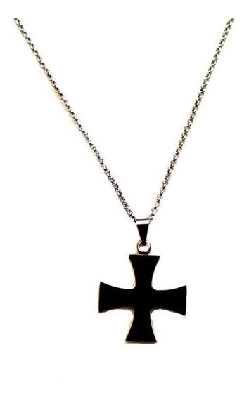 Colar Cruz Malta