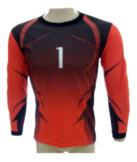 Camisa Goleiro Lince Heroes Pto/vrm Adulto