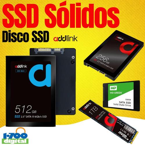 Disco Ssd Solido 512gb 480 500 Y 1 Tb 960 Tera 256 Pc Laptop