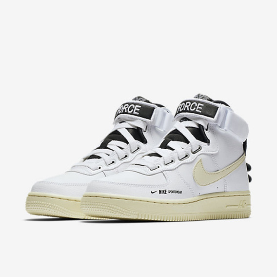 Tênis Feminino Nike Air Force 1 Hi Ut Branco Original
