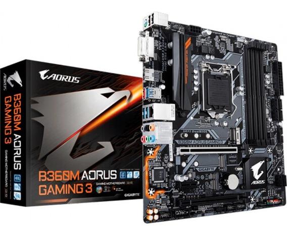 B360m Aorus Gaming Placa Mãe B360 Gigabyte 8º E 9º Geração