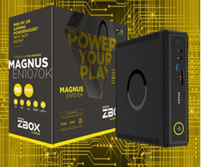 Placa Mãe Para Mini Pc Z-box Magnus En1070k / Zootac 7ª Gen.