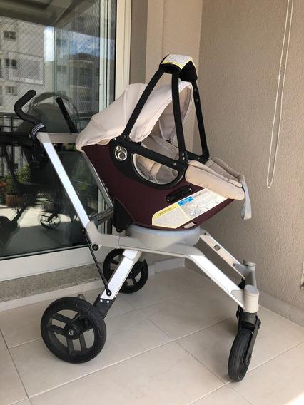 Carrinho De Bebê + Bebê Conforto + Assento Carro