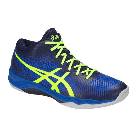 Zapatilla Asics Volley Elite Ff Mt Indoor Hombre Azul
