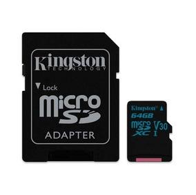 Cartão Memória Classe 10 64gb - Kingston