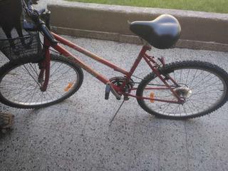 Bicicleta Fiorenza Rfz100 De Mujer Rodado 26
