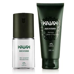 Presente Dia Dos Pais - Desodorante Kaiak Aventura + Shampoo