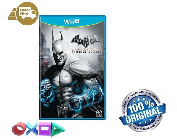 Batman Arkham City Armored Edition Americano Mídia Física