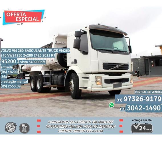 Volvo Vm 260 Truck 240 2011 Branco