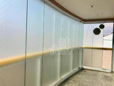 Cobertura Com 3 Dormitórios À Venda, 180 M² Por R$ 1.900.000 - Icaraí - Niterói/rj - Co0208