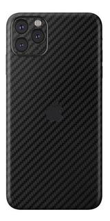 Skin De Vinil Tipo Fibra De Carbón Para iPhone 11 Pro Max