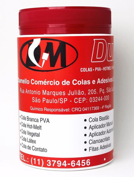 Cola Para Bloquinhos Ou Cola Para Blocagem Vermelha 1 Kg