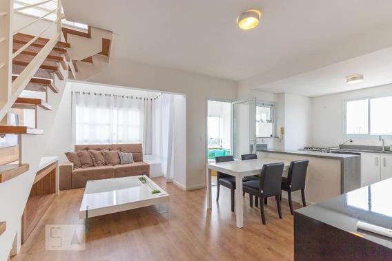 Apartamento No 7º Andar Mobiliado Com 2 Dormitórios E 2 Garagens - Id: 892989313 - 289313