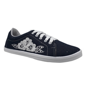 Tênis Beira Rio Feminino Jeans Escuro 4145.123