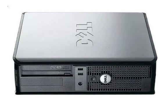 2 Cpus Dell Optlex 755 E8400 3.0 4gb Hd 80 + Cabo De Força