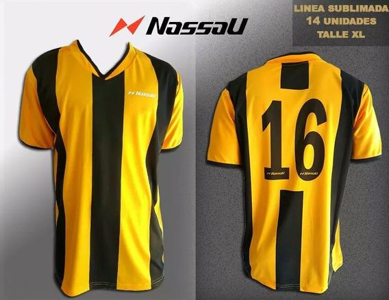 Juego De Camisetas Nassau X 14 Und. Xl Completo