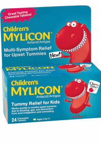 Childrens Mylicon Alivia Gases - 24 Tablets
