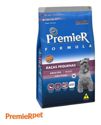 Ração Premium Premier Para Cães Adultos Raças Pequenas 2.5kg