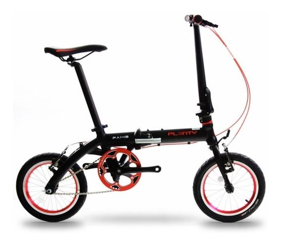 Bicicleta Plegable Plenty R14 Ligera 7 Velocidades Shimano M