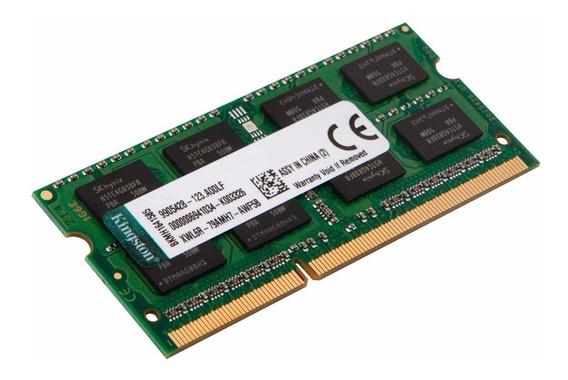 Memoria Notebook Kingston Sodimm 8gb Ddr3 1600 Mhz