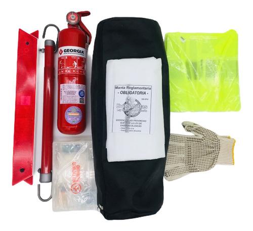 Kit Reglamentario De Emergencia Para Autos 7 En 1