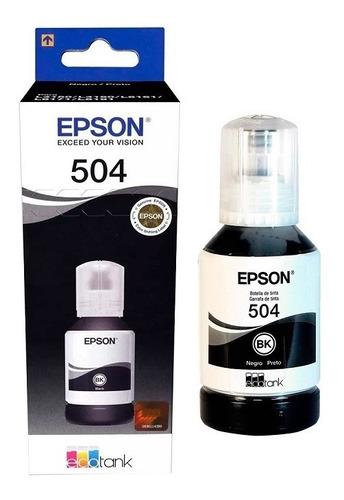 Tinta Epson T504 Negro