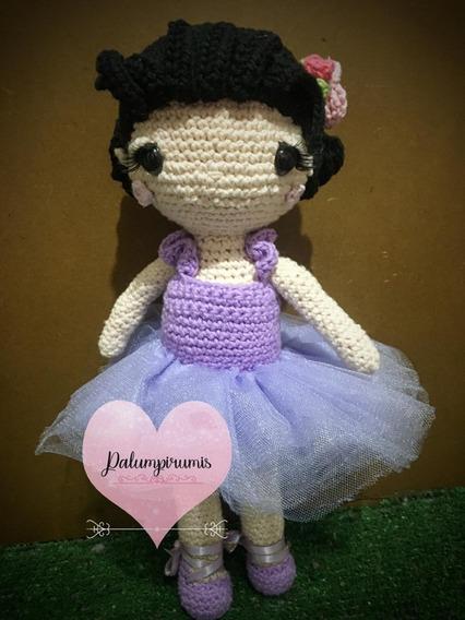 Bailarina De Crochet - Amigurumi, Tejido, Hecho A Mano ...   568x426