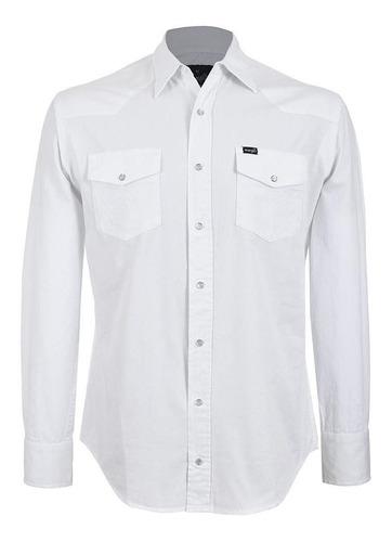 Camisa Vaquera Wrangler Hombre Manga Larga 110