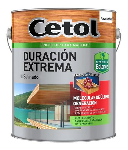 Cetol Duración Extrema Satinado 1 Litro Maderas Colores Mm