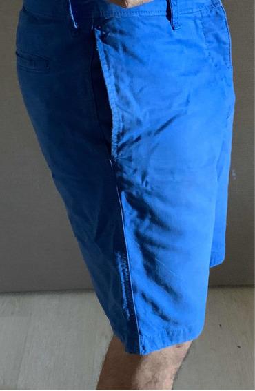 Abercrombie Bermuda Azul M/l