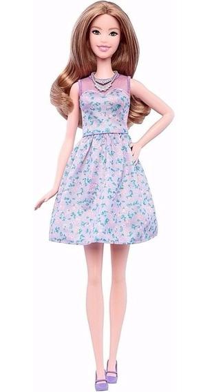 Boneca Barbie Fashionista - Vestido Floral 53 - Mattel Fbr37